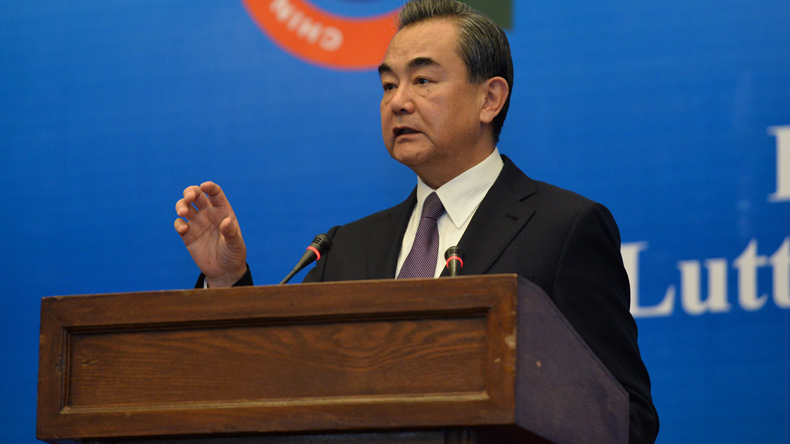 China pledges support for Pakistan's war against terrorism