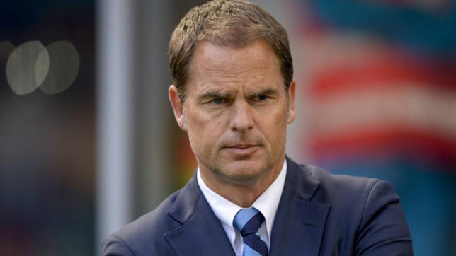 EPL: Crystal Palace manager Frank de Boer sacked after 4 straight losses this season