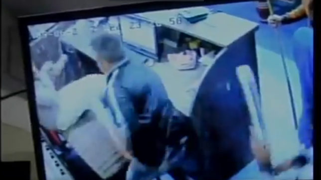 Caught on cam: Man savagely stabbed with knife in Snooker club