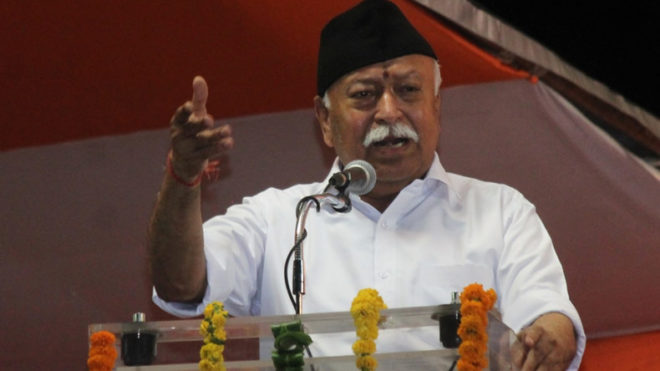 Deeply saddened by Mumbai stampede, says Mohan Bhagwat during his Dussehra address