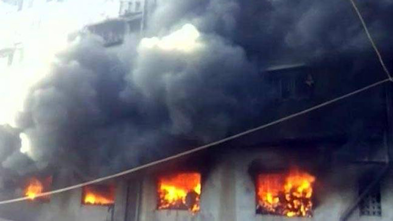 Mumbai building fire kills six
