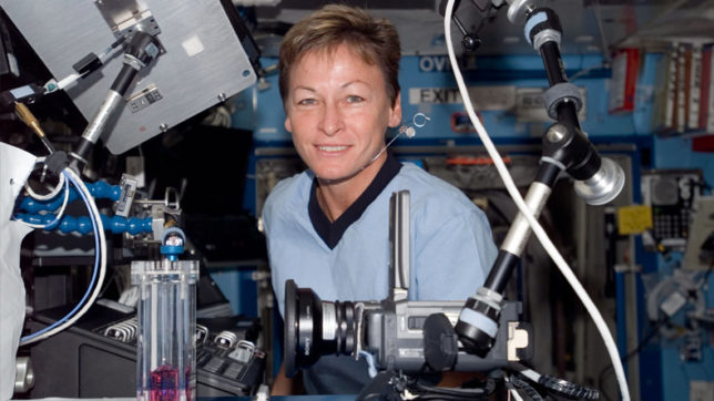 Record-breaking astronaut Peggy Whitson set to return home