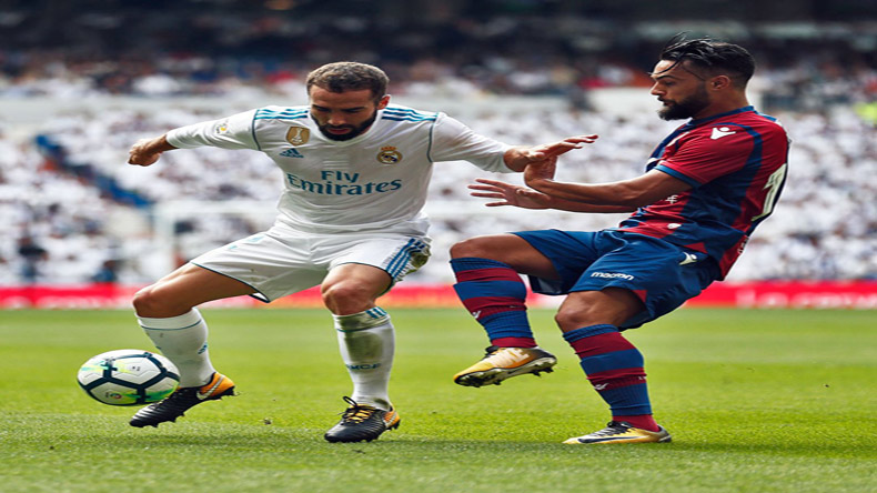 La Liga: Real Madrid lose 2 points after 1-1 home draw against Levante