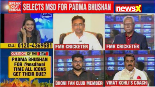 Speak Out India: 'Captain Cool' MS Dhoni nominated by BCCI for Padma Bhushan