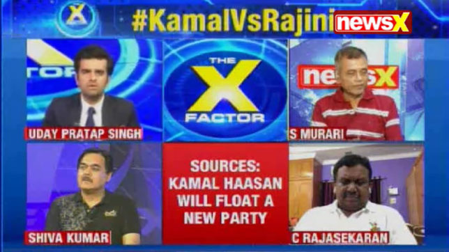The X Factor: I'll have my own political party, declares Kamal Haasan