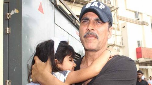 Aww! Akshay Kumar shares an adorable video on daughter Nitara's 5th birthday