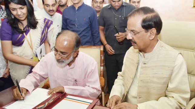 KJ Alphons is BJP's election in-charge for Meghalaya