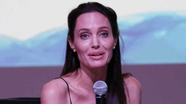 Angelina Jolie not enjoying being single