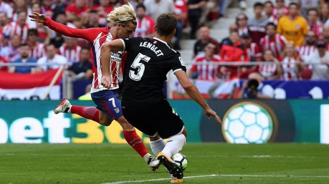 Atletico Madrid routs Sevilla 2-0 in the biggest La Liga clash of the season