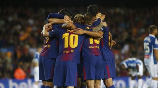 Messi's hat-trick inspires Barcelona to a 5-0 victory over Espanyol