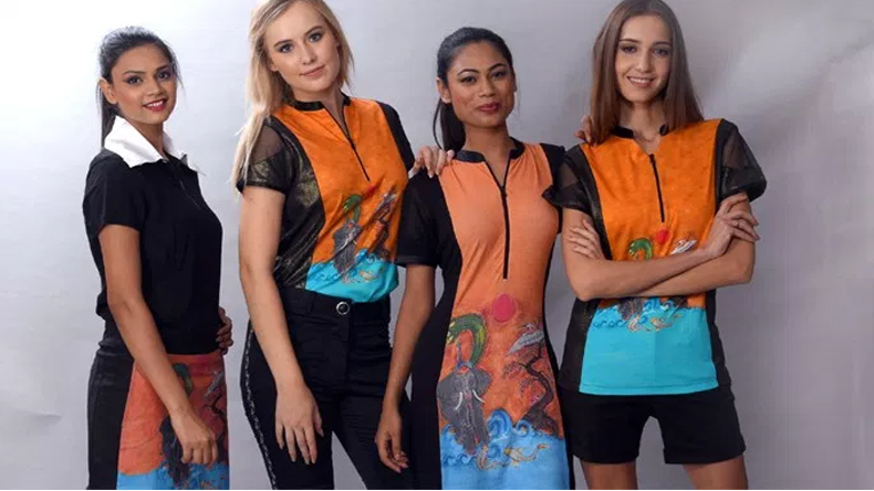 In India's crazy traffic you need transitional clothing: American designer Christine Storm
