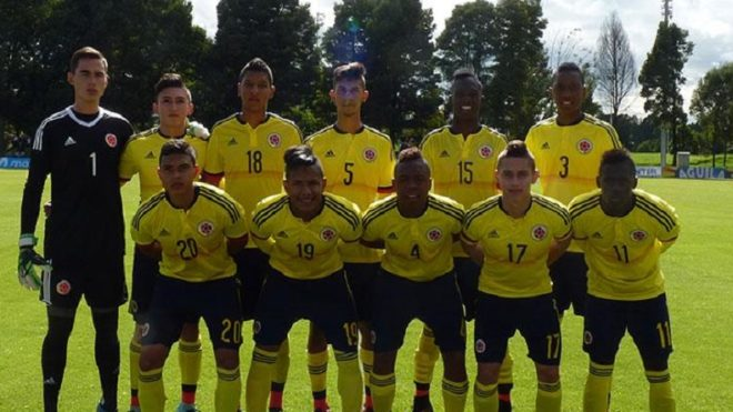 Colombia announce squad for FIFA U-17 World Cup