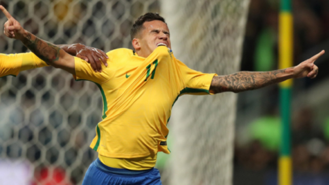 Philippe Coutinho inspires Brazil to 9th straight World Cup qualifying win