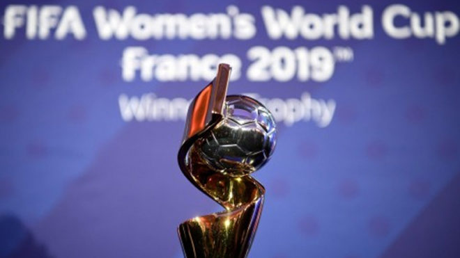 Women's World Cup emblem, slogan unveiled
