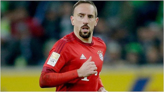 Manchester United rejected a chance to sign Franck Ribery when he was 22