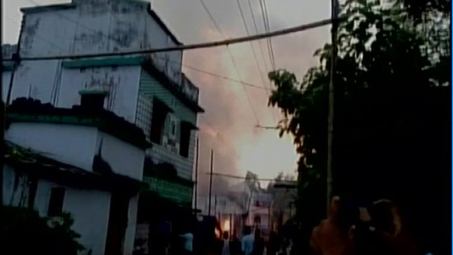Jharkhand: Massive fire at an illegal firecracker factory in East Singhbhum; 8 killed