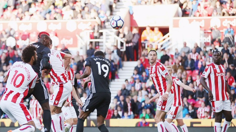 Manchester United 2-2 Stoke City: The Potters end United's unbeaten run with a well fought draw