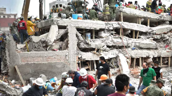 Mexico earthquake: President Nieto orders 3-day mourning