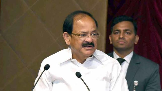 Swaraj meaningless if there is illiteracy: Vice President M Venkaiah Naidu