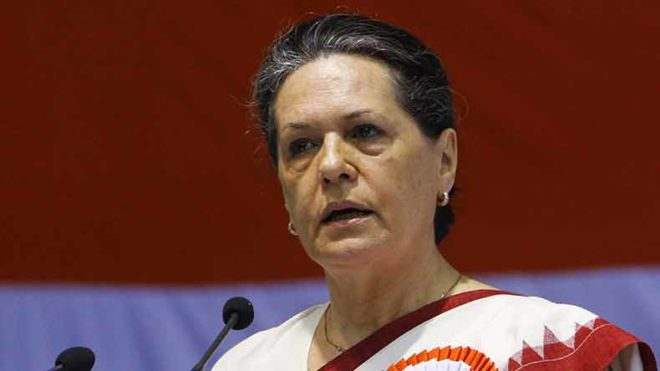 Congress president Sonia asks PM Modi to pass Women's Reservation Bill