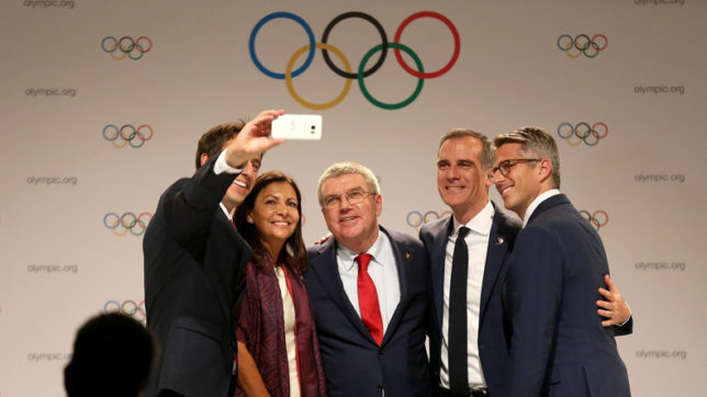 Paris celebrates the finalization of Olympic Games in 2024