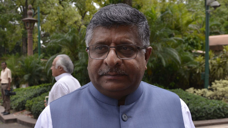 Driving licences to be linked with Aadhaar: Ravi Shankar Prasad