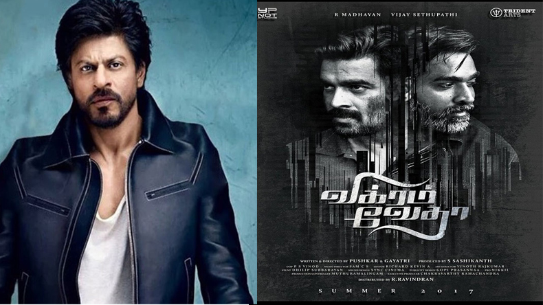 Shah Rukh Khan to star in Hindi remake of Tamil thriller 'Vikram Vedha'?