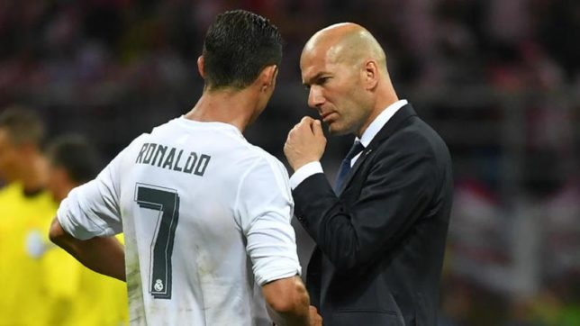 Real Madrid coach Zinedine Zidane says getting Ronaldo back is a relief