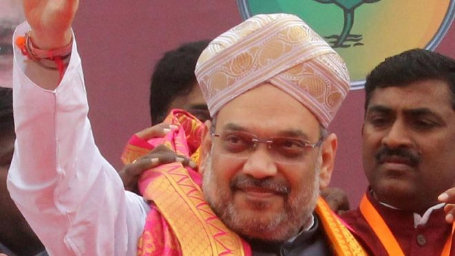 Amit Shah's jibe at Rahul Gandhi — Don't wear spectacles made in Italy to see Gujarat's development