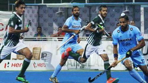 India dismantles arch-rivals Pakistan 4-0 to book a spot in the finals of Asia Cup 2017
