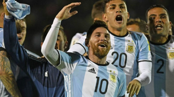 Magical-Messi-scores-hat-trick-to-send-Argentina-to-FIFA-World-Cup;-Chile-bows-out