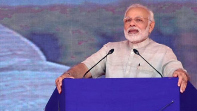 Digital divide in today's age not possible: PM Modi in Gandhinagar