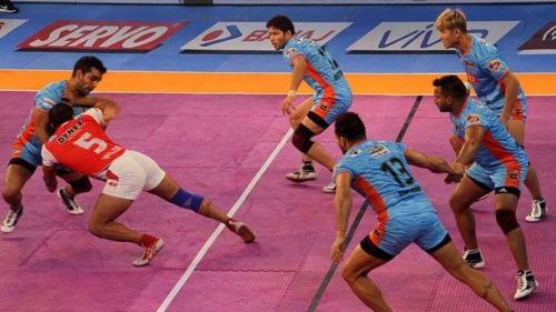 Pro Kabaddi League 2017, Season 5: Points table