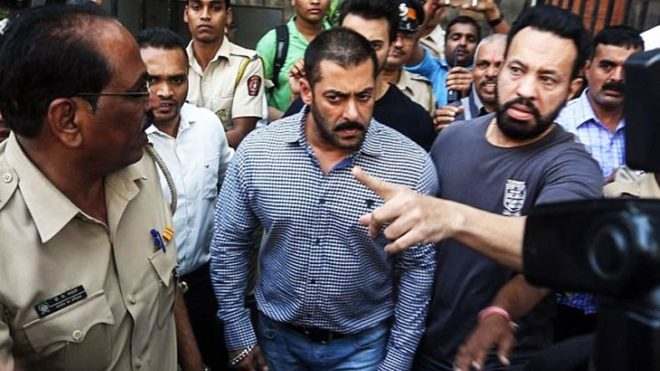 Woman files complaint against Salman's bodyguard