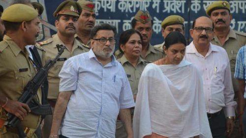 Aarushi Talwar's parents reach Noida residence after release from Dasna jail