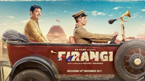 Firangi latest poster: Kapil Sharma seen with a naughty smile in the new Firangi poster