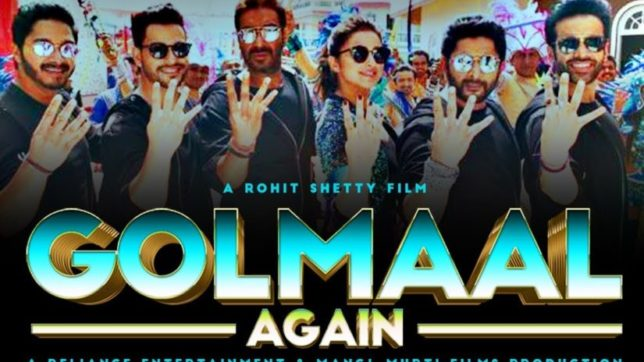 Rohit Shetty basks in Golmaal Again success