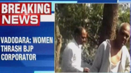 Gujarat: BJP corporator tied to tree, beaten by women