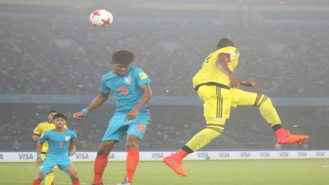 FIFA U-17 World Cup: Jeakson Singh scores historic goal as India go down fighting against Colombia