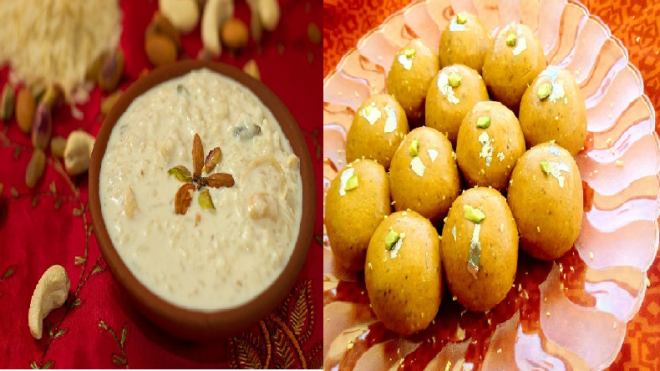 Karwa Chauth 2017: Apple kheer, Besan ladoo and other easy to make dessert recipes for Karwa Chauth