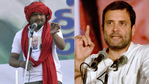 Gujarat Assembly Elections: Hardik Patel attacks BJP, Rahul Gandhi follows suit