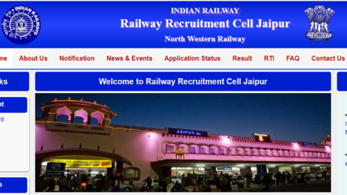 RRB Recruitment 2017: RRC Jaipur recruitment open for 307 vacancies