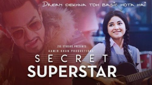 Bollywood is all praises for Aamir Khan and Zaira Wasim's Secret Superstar