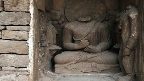 48-feet long 'world's oldest' Buddha statue unearthed in Pakistan
