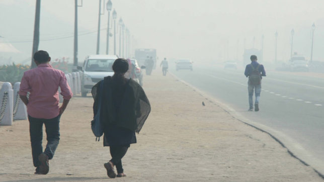 Delhi's air quality improves, but stubble burning in Punjab up
