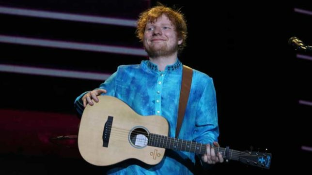 Film with Shah Rukh Khan would be quite cool: Ed Sheeran