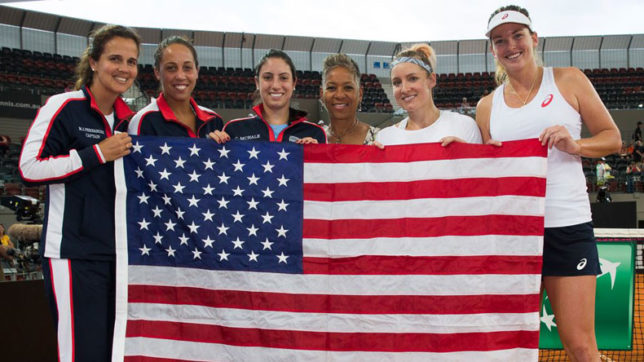 United States beats Belarus to win Fed Cup title