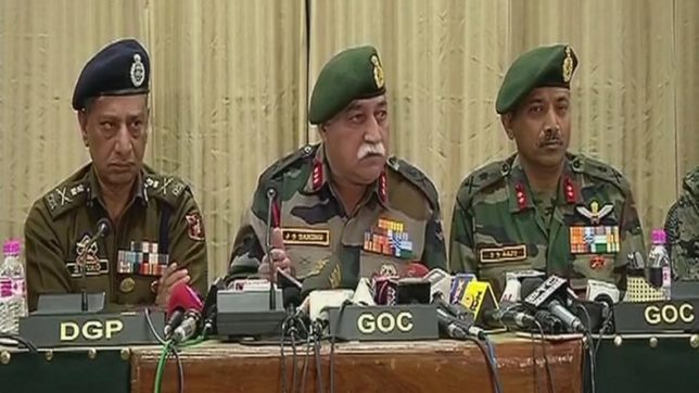 Sustained counter-insurgency operations would soon restore peace in Valley: Army