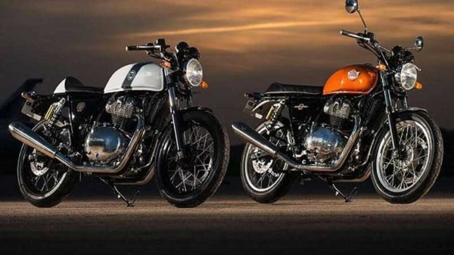 Finally! Royal Enfield unveils Interceptor, Continental GT 650 in India