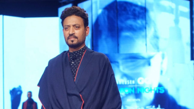 Dubai film festival to honour Indian actor Irrfan Khan